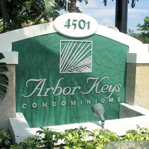 Arbor Keys Monument Sign