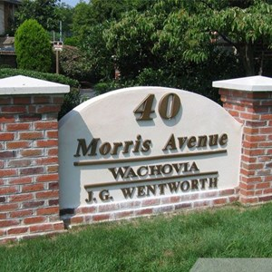 Wachovia Monument Sign
