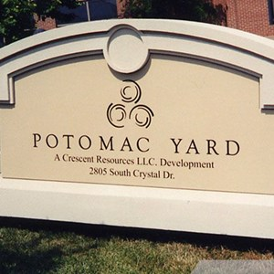 Potomac Yard Monument Sign