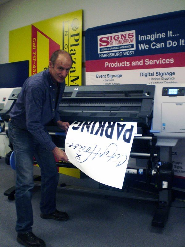 Local Signage Business Sets the Standard for Green Printing