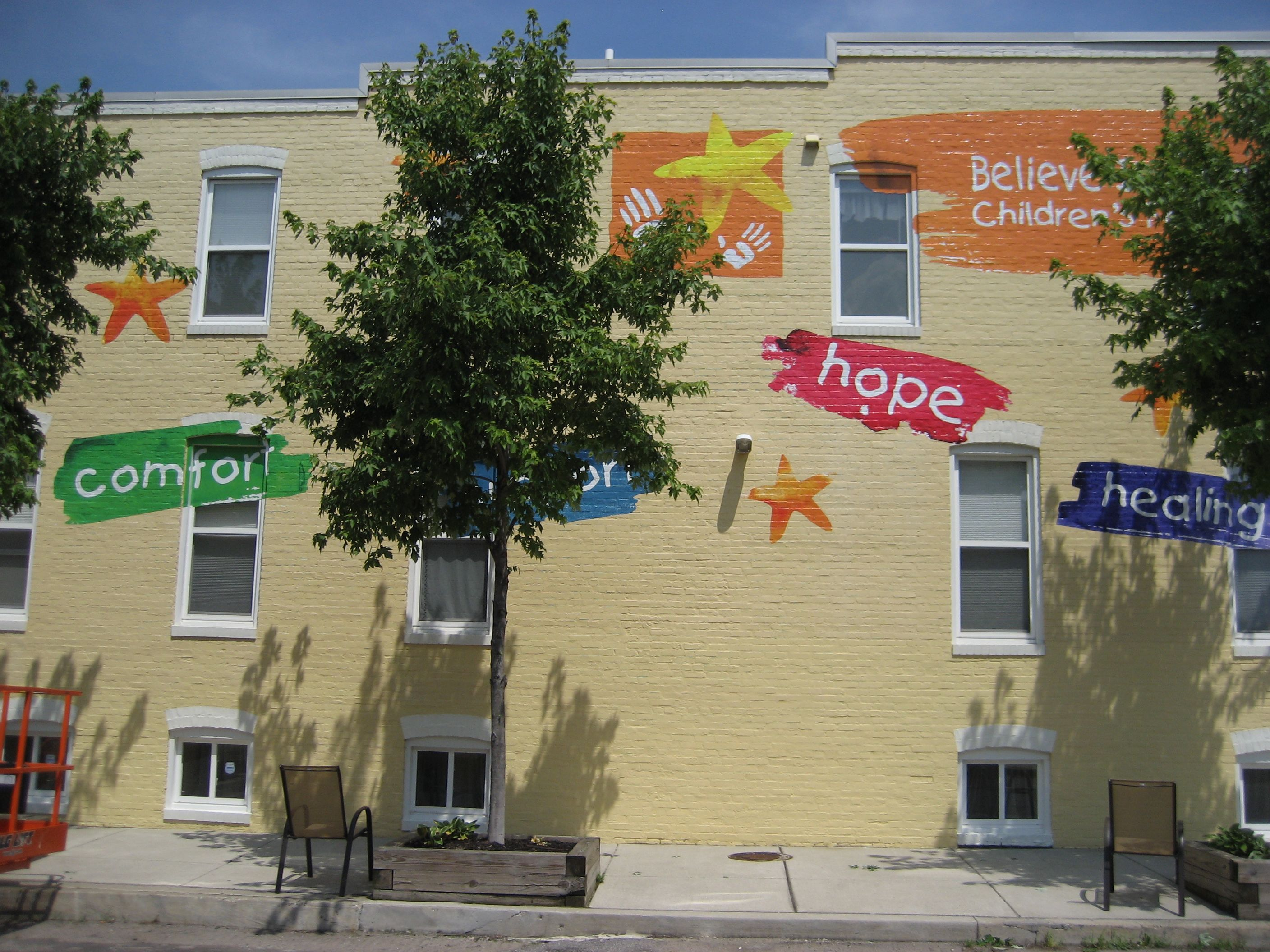 Believe in Tomorrow House at St. Casimir Gets Wrapped