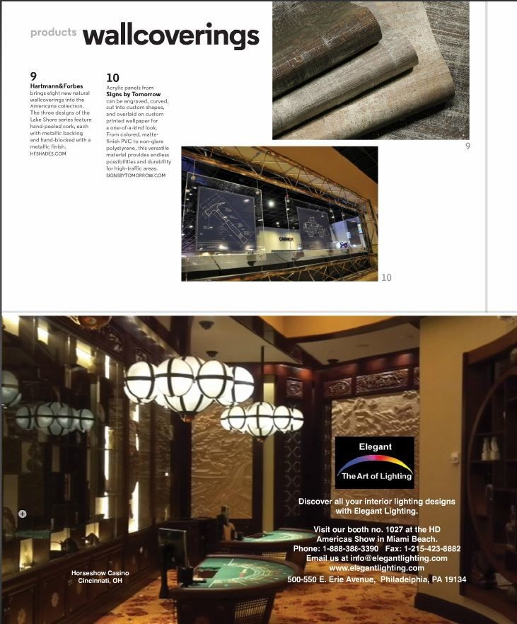 Signs By Tomorrow Featured in Hospitality Magazine