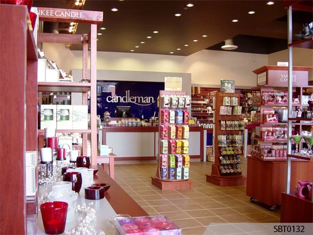 Yankee Candle Custom Interior Retail Signage