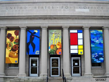 Post Office Outdoor Vinyl Banner