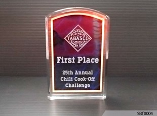 1st Place Acrylic Award