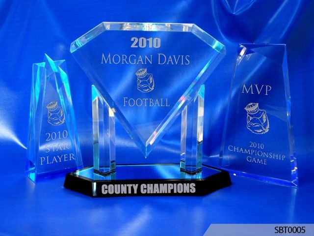 County Champ Acrylic Award