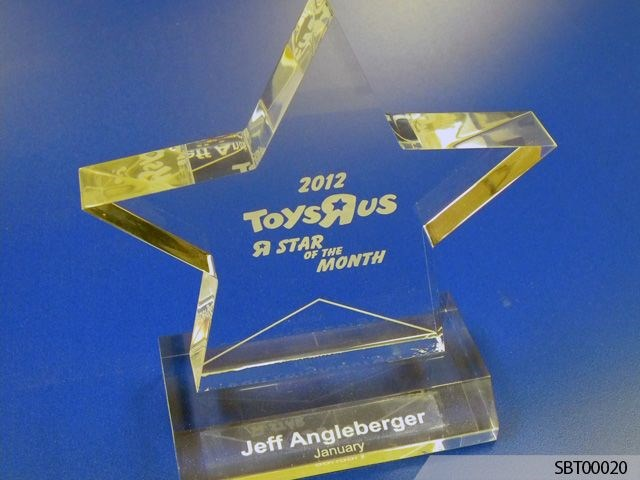 Toys R Us Custom Acrylic Engraved Award