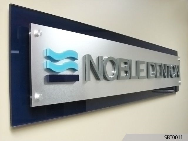 Acrylic Reception Sign