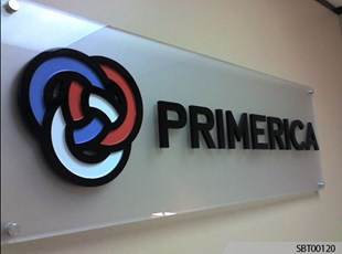 Primerica Custom Acrylic Display