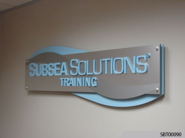 Subsea Custom Office Acrylic Display