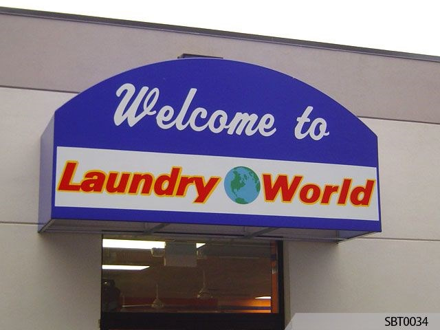 Laundry World Awning