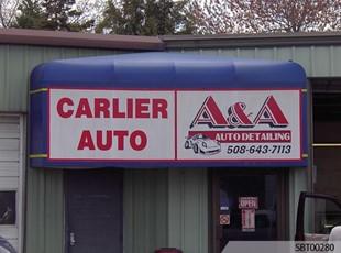 Auto Detailer Custom Awning