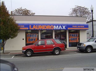 Laundromat Custom Awning