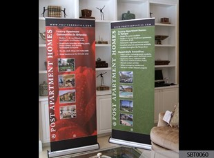 Real Estate Banner Stands