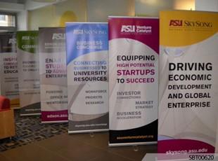 ASU Custom Banner Stand Display