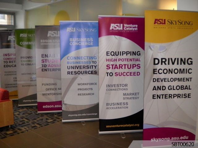 ASU Custom Banner Stand Display