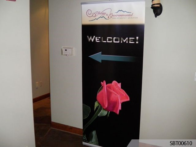 Healthcare Custom Banner Display