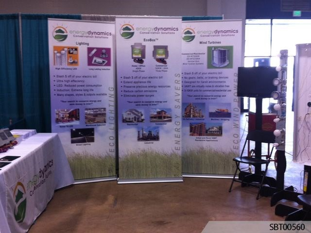 Service Custom Trade Show Banner Display