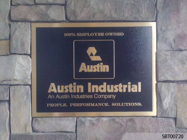 Custom Cast Plaque