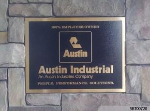 Custom Cast Plaque