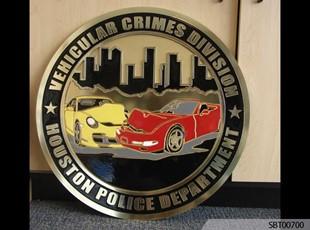 Police Custom Cast Plaque