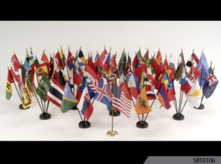 Desk Top Flags