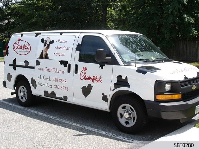 Chick-Fil-A Vehicle Graphics