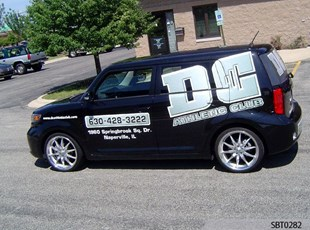DC Vehicle Graphics & Lettering