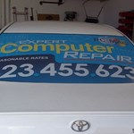 Custom Vehicle Lettering & Graphics