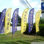 Feather Banners - Outdoor Signage for Promo Events