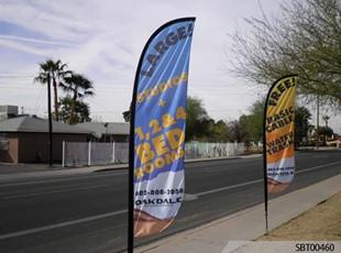 Apartment Custom Feather Banner