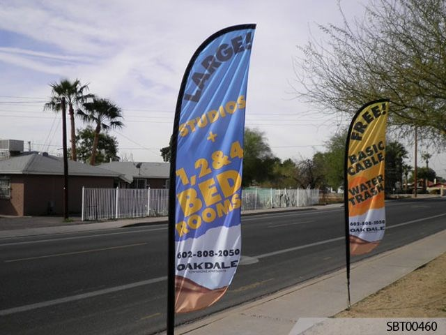 Custom Feather Banners Signs By Tomorrow Mesa