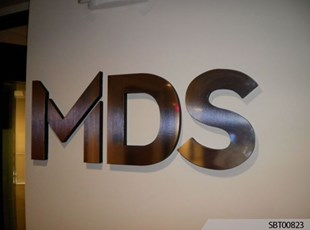 MDS Interior Dimensional Lettering