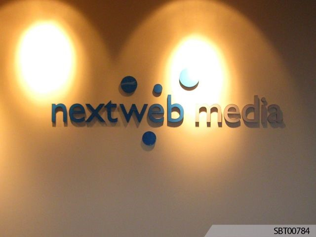 Nextweb Media Interior Dimenstional Lettering