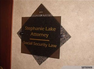Attorney Interior Suite Sign
