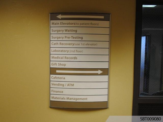Custom Indoor Directory Signs Signs By Tomorrow