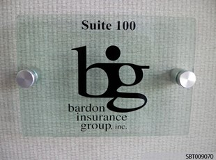 Custom Acrylic Interior Suite Sign