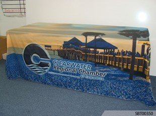 Chamber of Commerce Custom Table Throw