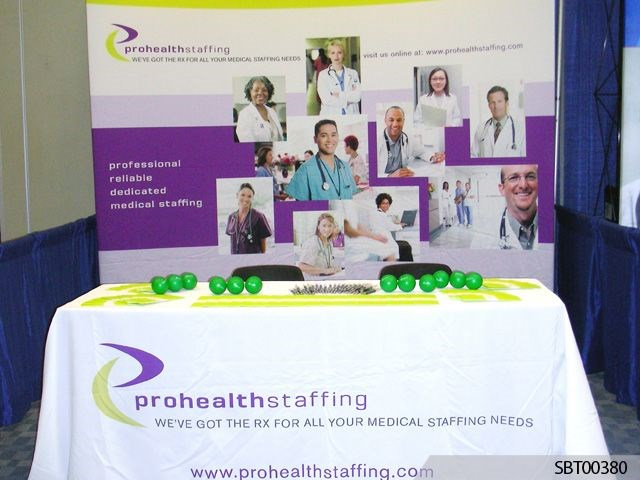 Pro Health Custom Fabric Display