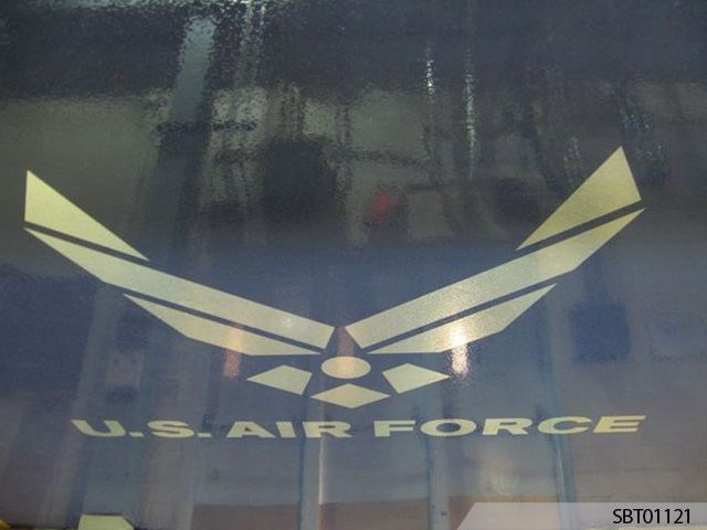 Air Force Custom Floor Graphics
