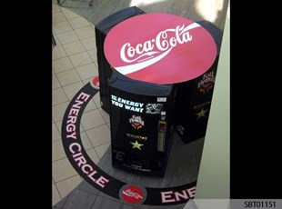 Coke Custom Floor Graphics