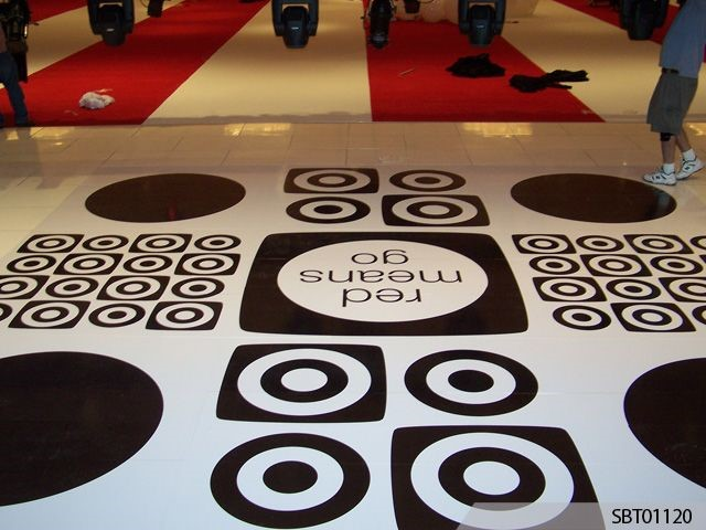 Put your foot down: Make the most of your signage space with Floor Graphics!