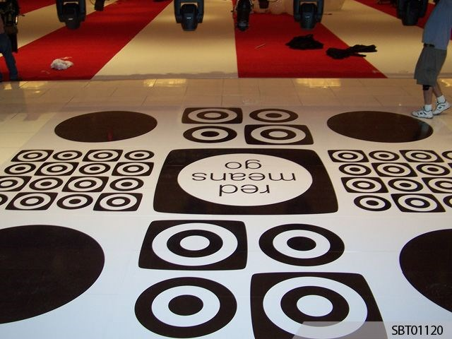 Target Custom Dance Floor Graphics