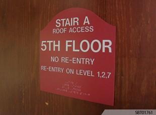 Indoor Custom OSHA Safety Sign