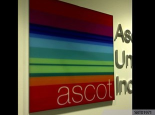Ascot Custom Indoor Plastic Sign