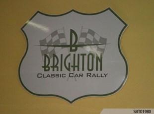 Brighton Custom Indoor Plastic Sign