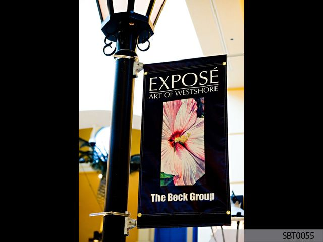 Retail Interior Pole Banner