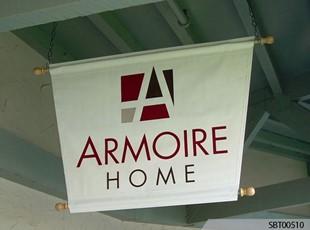 Armoire Home Custom Pole Banner