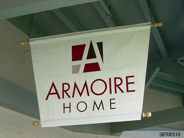 Armoire Home Custom Pole Banner