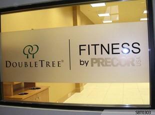 Double Tree Fitness Center Window Graphics